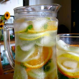 Cucumber Agua Fresca.