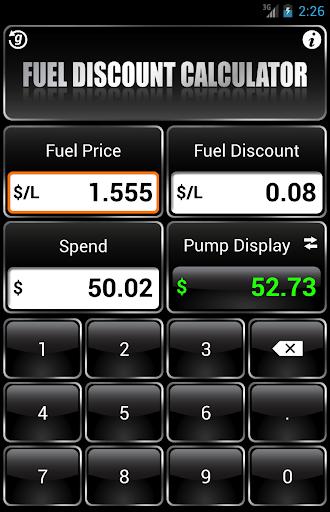 Fuel Discount Calculator