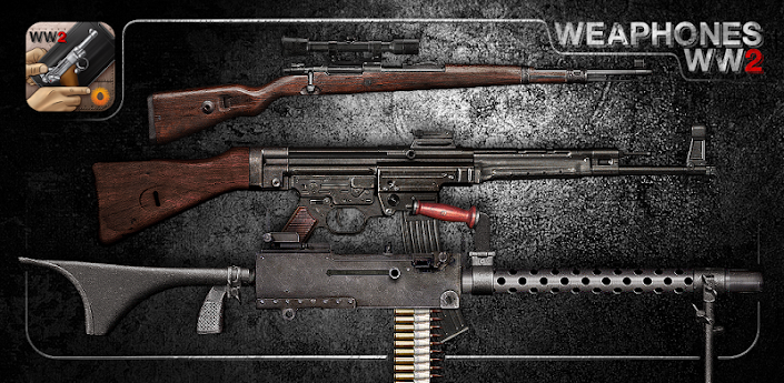 Weaphones WW2: Firearms Sim Android İndir