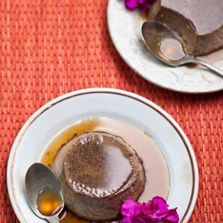 Modern Mexican Chocolate Flan.