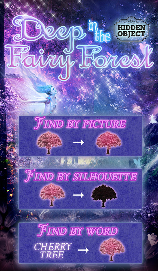 Hidden Object - Fairy Forest- screenshot