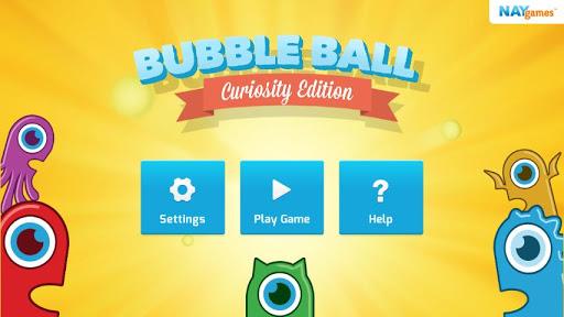 Bubble Ball: Curiosity Edition