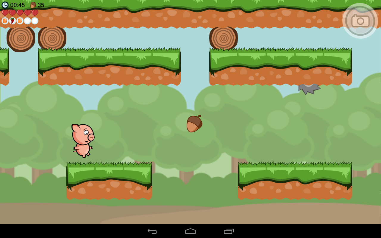 Crisp Bacon: Run Pig Run- screenshot