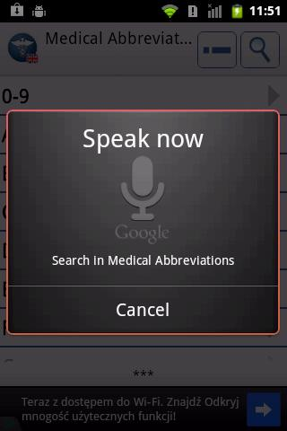 Medical Abbreviations EN - screenshot