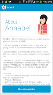 Chat with Annabel - screenshot thumbnail