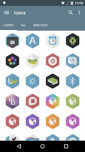 Hexacon - Icon Pack - screenshot thumbnail