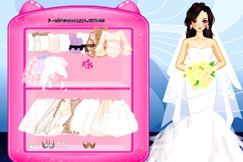 Wedding Bride Cute Dress up