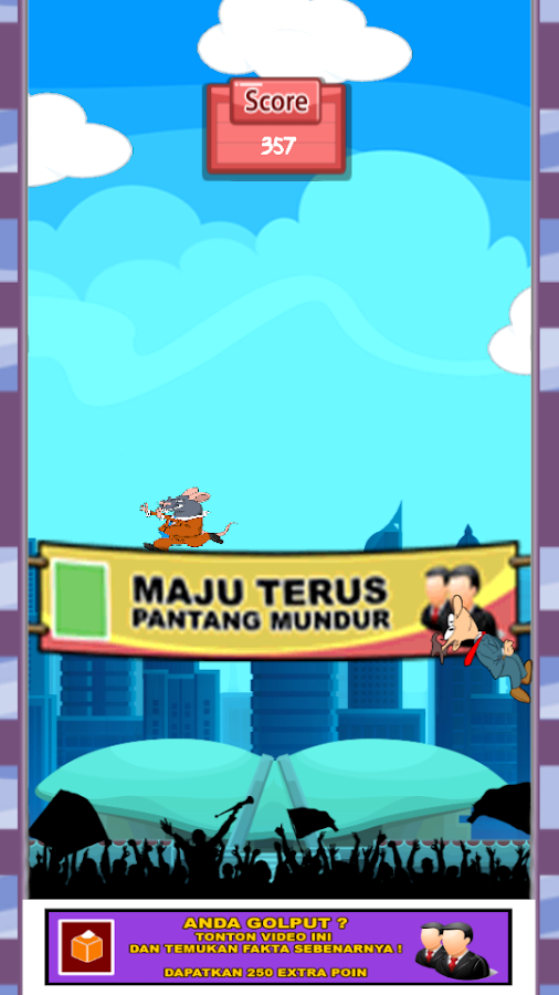 GAME PEMILU 2014- screenshot