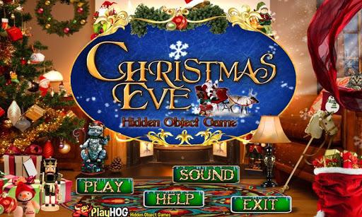 Christmas Eve - Hidden Objects