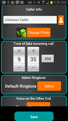 Fake-A-Call Free screenshot 3