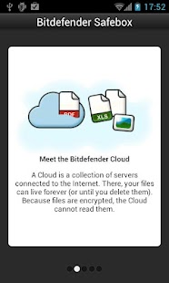 Bitdefender Safebox- screenshot thumbnail