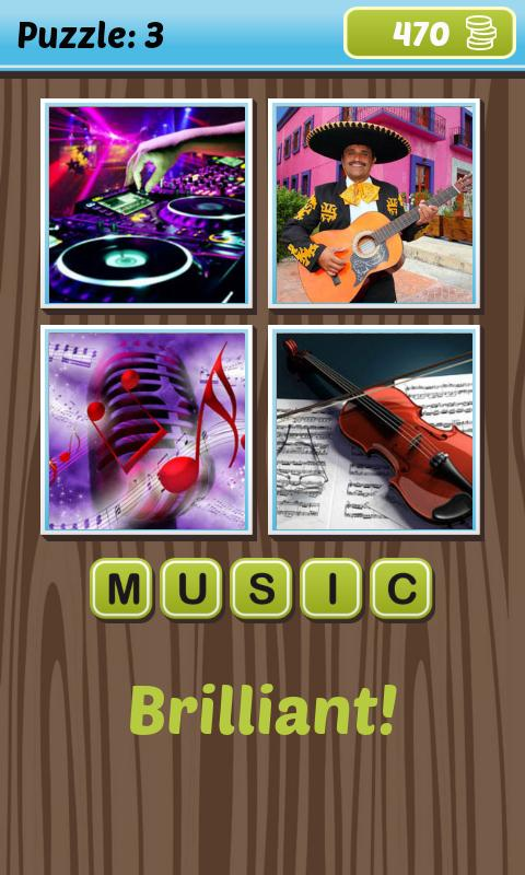 What's the Word: 4 Pics 1 Word - screenshot