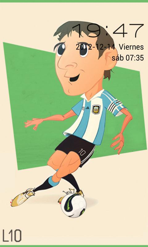 Go Locker Theme Messi- screenshot