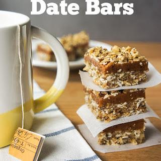 Gluten Free Date Bars {No Added Sugar}.