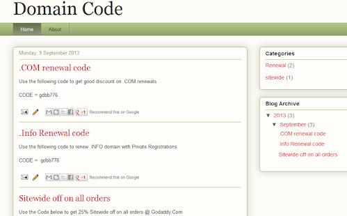 Domain Code