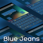 Blue Jeans Keyboard
