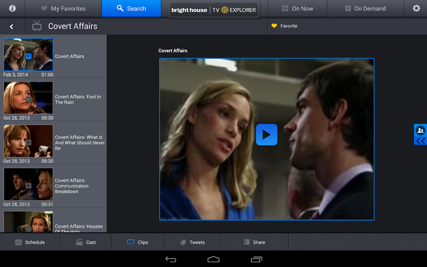 Bright House TV Explorer- screenshot