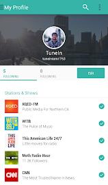 TuneIn Radio Pro Screenshot 4