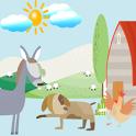 Animals Word Match icon