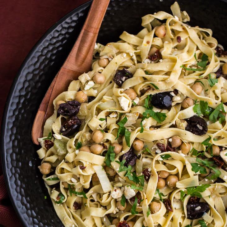 Mediterranean Einkorn Pasta Recipe