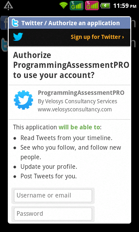 Programming Assessment(Pro)- screenshot