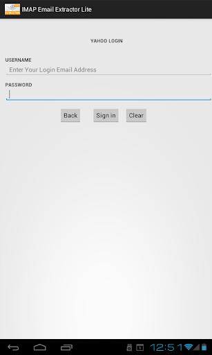 【免費通訊App】IMAP Email Extractor Lite-APP點子
