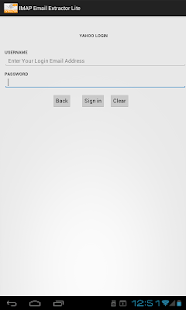 IMAP Email Extractor Lite- screenshot thumbnail