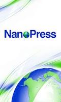 Screenshot of Nanopress