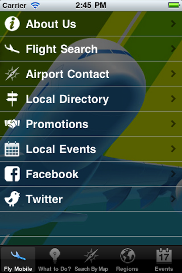 Fly Mobile- screenshot