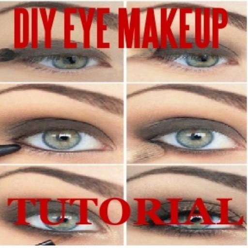 DIY Eye Makeup Tutorial LOGO-APP點子