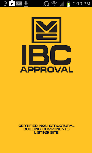 IBC Approval
