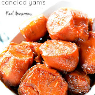 Mother-in-Law Candied Yams.