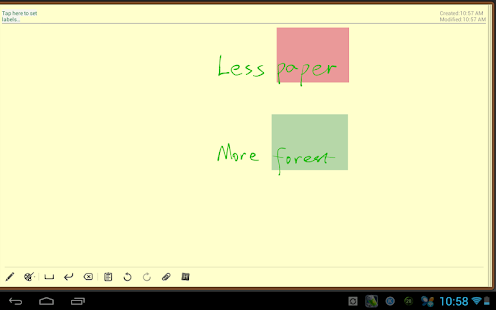 Handrite note Notepad Pro- screenshot thumbnail