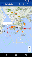 Screenshot of Hong Kong Flight Info