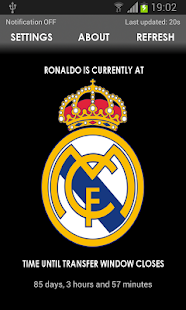 Ronaldo Watch - screenshot thumbnail