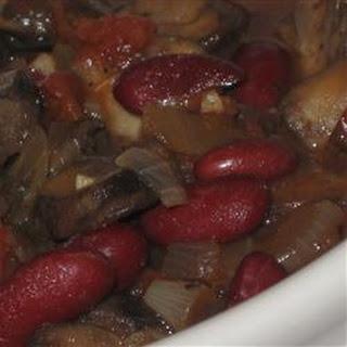 Portobello Mushroom Chili