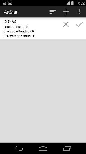 AttStat - Attendance Tracker