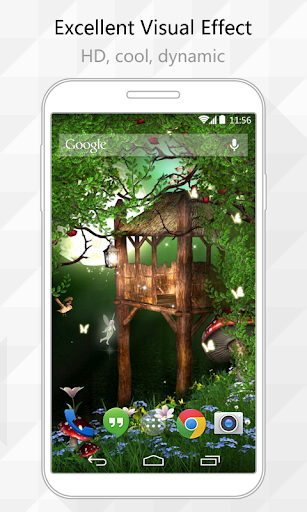 Mystery Forest Live Wallpaper