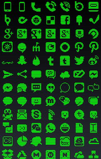 無料个人化Appの1ビット綠・アイコン・テーマ|記事Game