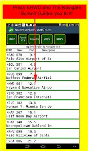 VFR Nav+ WorldWide GPS Air NAV - screenshot thumbnail
