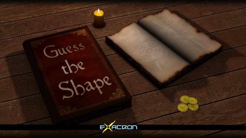 Guess the shape Quiz game - screenshot