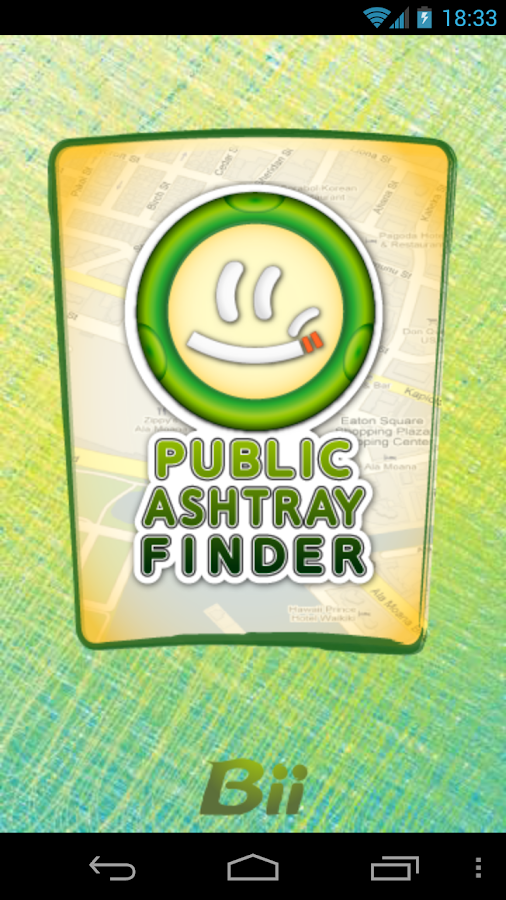 Public Ashtray Finder - screenshot