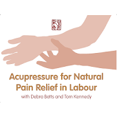Acupressure labour pain relief