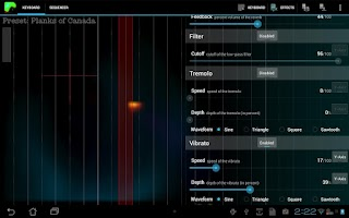 Screenshot of Plasma Sound HD