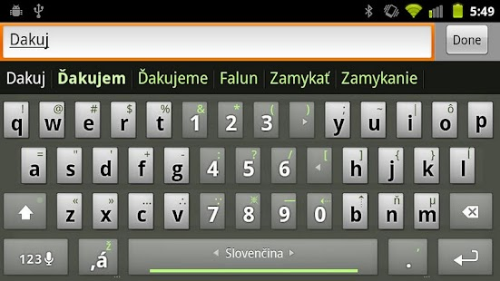 Slovak Keyboard Plugin- screenshot thumbnail