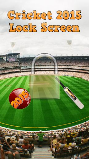 Cricket 2015 Lock Screen