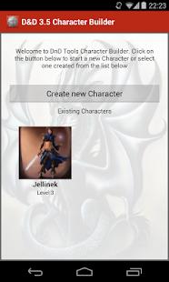 D D 3.5 Character Builder