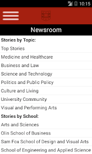 WUSTL Mobile - screenshot thumbnail