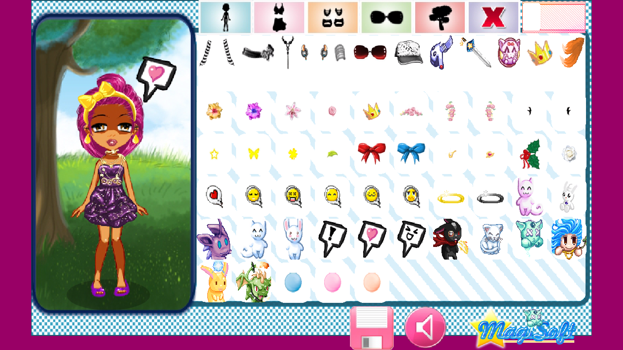 Maidens Avatar Creator Deluxe - screenshot