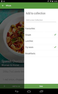 Whisk Recipes & Shopping List - screenshot thumbnail